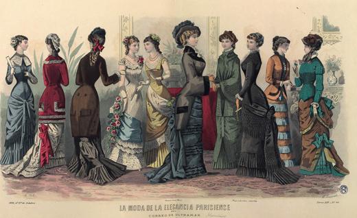 Moda parisiense siglo XIX