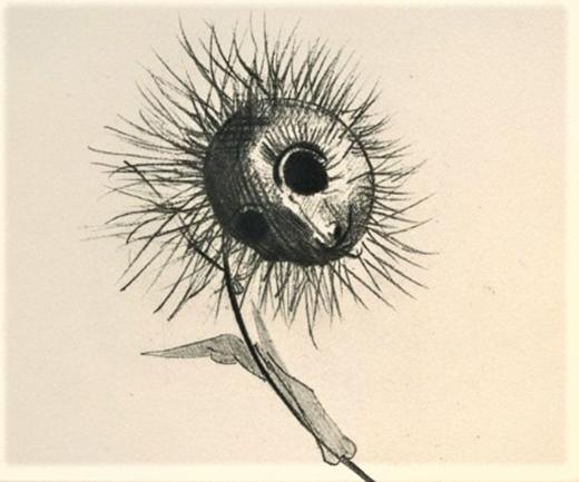 Odilon Redon, Las Flores del Mal