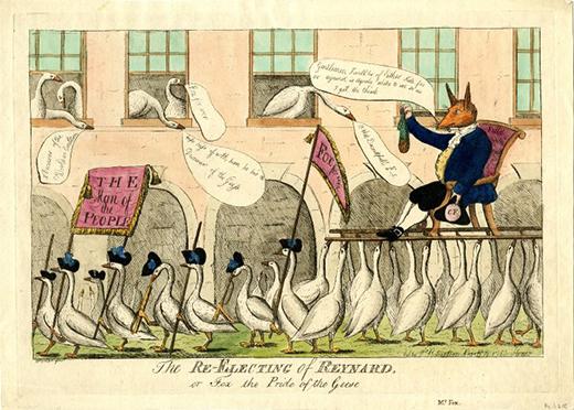 Satira siglo XVIII
