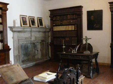 Despacho de Feijoo en Samos