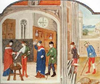 Saludador medieval