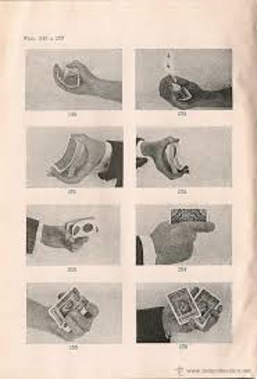 Ilustraciones de la Cartomagia de Bernat y Fábregas