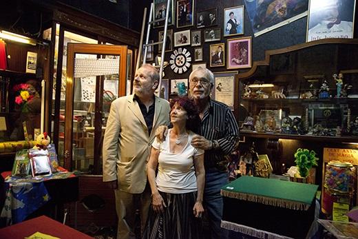 Encarnita, José Luis Ballesteros y Ramón Mayrata. Foto: Corina Arranz