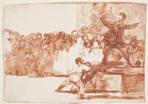 Foto 6: Goya: El tragafuegos
