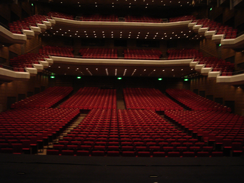gradas teatros públicos