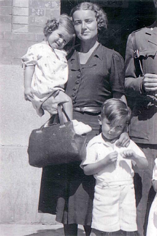 Augusta Orth a su regreso a España en 1938