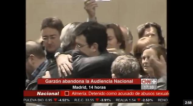 Garzón abandona la Audiencia Nacional