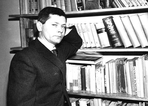 Imagen de Herbert en la Biblioteca Nacional de Varsovia, 1963/ADN