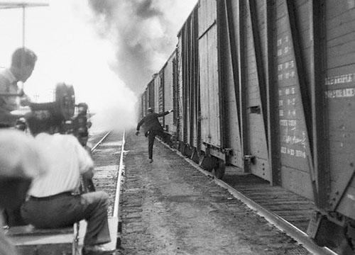 Fuera de campo de la película Man´s Castle, California 1933