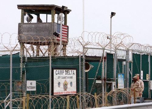 Soldados de EEUU en la base de Guantánamo. Octubre, 2007. Ejército de EEUU