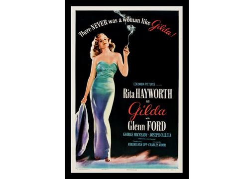 Cartel de la película Gilda