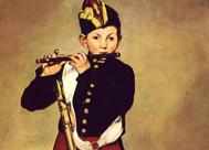 'Le fifre' de Édouard Manet