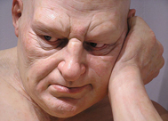 'Big Man' de Ron Mueck