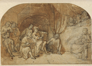 Dibujo de Rembrandt