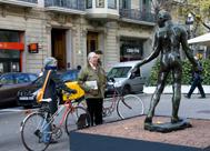 'Los burgueses de Calais', Auguste Rodin