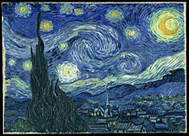 'Noche estrellada', Van Gogh