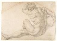 'Hombre sentado desnudo', Bronzino
