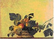 'Canasto de fruta', Caravaggio