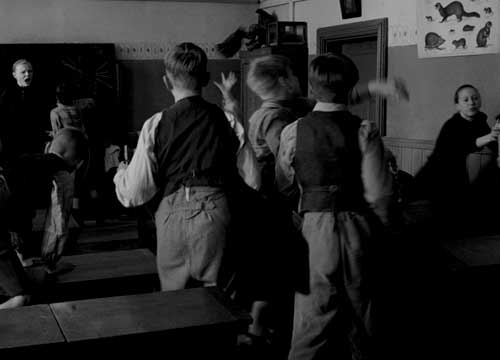 Escena de la película La cinta blanca