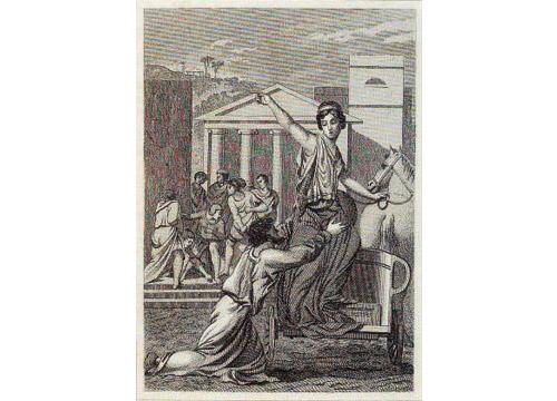 Retrato de Hipatia de Alejandria
