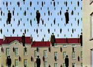 'Golconda', Magritte