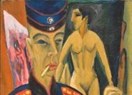 'Autorretrato', Ludwig Kirchner