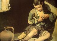 'El joven mendigo', Murillo