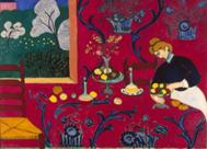 'La habitación roja', Henri Matisse