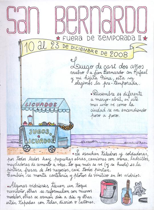 Ilustración 'San Bernardo. Fuera de temporada' de Delius