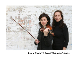 El dúo Ana e Idoia Uribarri