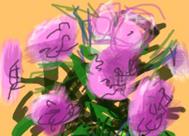 Flores Frescas de Hockney