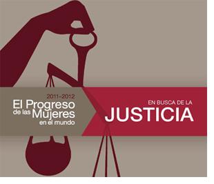 Invitación Evento El progreso de las mujeres en el mundo  2011-2012. En busca de la Justicia