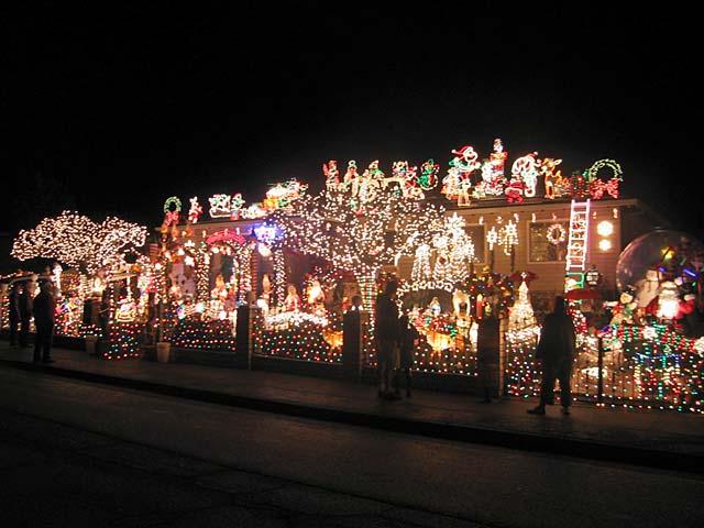 Casa navideña en Novato, California