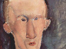 Blaise Cendrars retratado por Amedeo Modigliani, 1917 (detalle)
