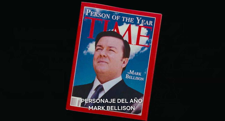 Fotograma de la película 'Increíble pero falso' (2009), de Ricky Gervais.