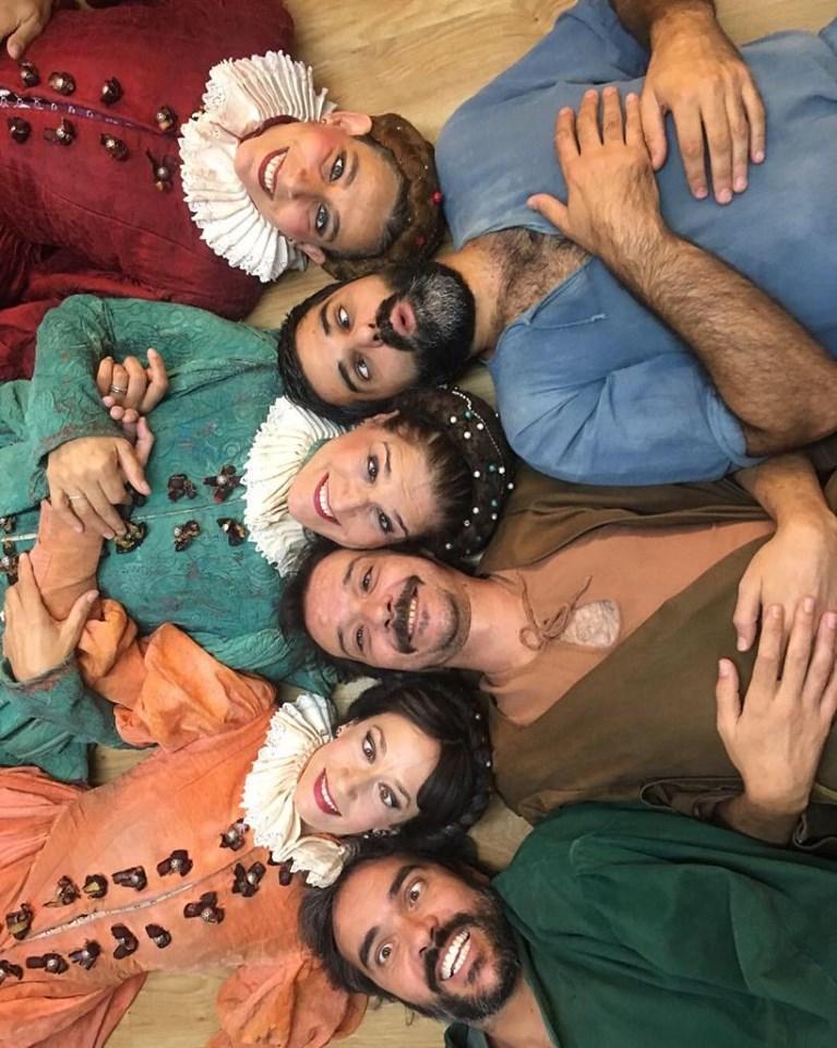 Cómo era la anterior era teatral para Natalia Hernández Arévalo 2