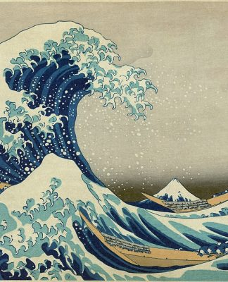 'La gran ola de Kanagawa' (1830-1833), de Katsushika Hokusai.