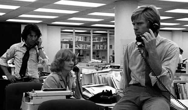 Fotograma de la película 'Todos los hombres del presidente' (1976).