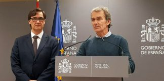 Salvador Illa y Fernando Simón.