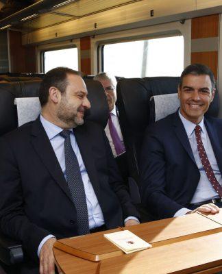 Ábalos y Sánchez.