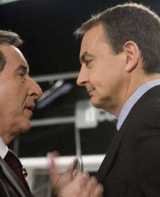 Gabilondo y Zapatero.