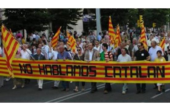 No hablamos catalán