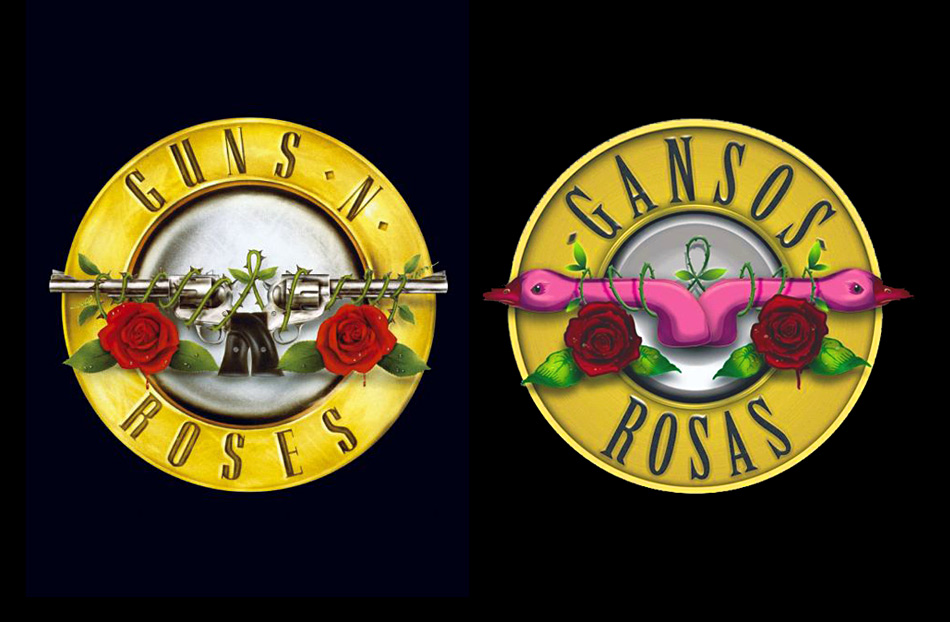 guns and roses letras traducidas: